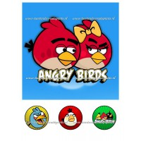 Frosting - Angry Birds 2 - 20x20cm