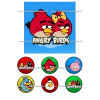 Frosting - Angry Birds 2 - 15x15cm