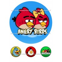 Frosting - Angry Birds 2 - 20cm