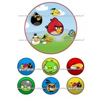 Frosting - Angry Birds 1 - 15cm