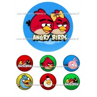Frosting - Angry Birds 2 - 15cm